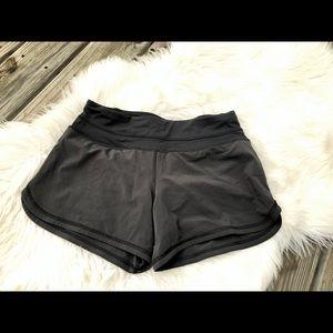 "SOLD - Lululemon Black Running Shorts 4"""